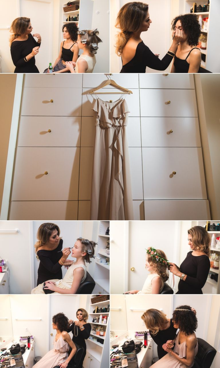 Aisha & Dave - Intimate candlelit wedding at their home in Edmonton 2