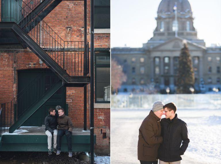 Same Sex Engagement Session in Edmonton