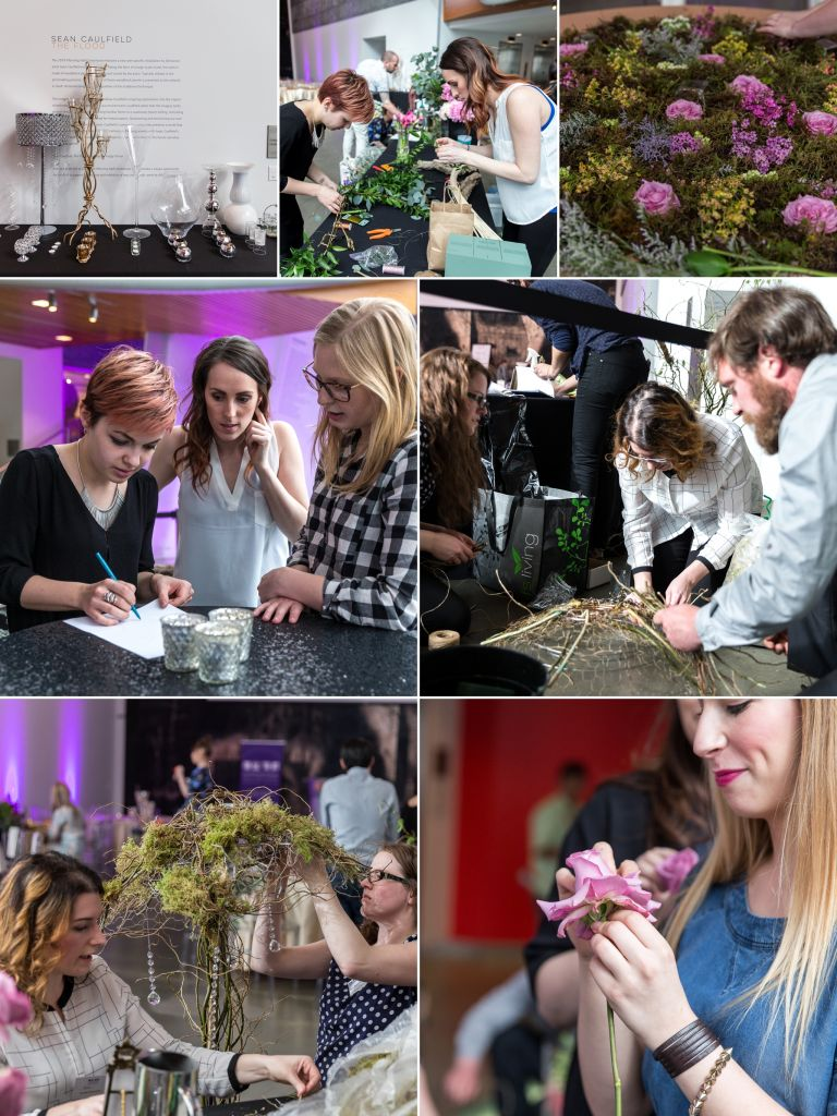 ISES Edmonton WEDmonton Floral Competition at the Art Gallery of Alberta 1