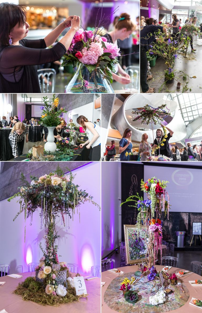 ISES Edmonton WEDmonton Floral Competition at the Art Gallery of Alberta 3