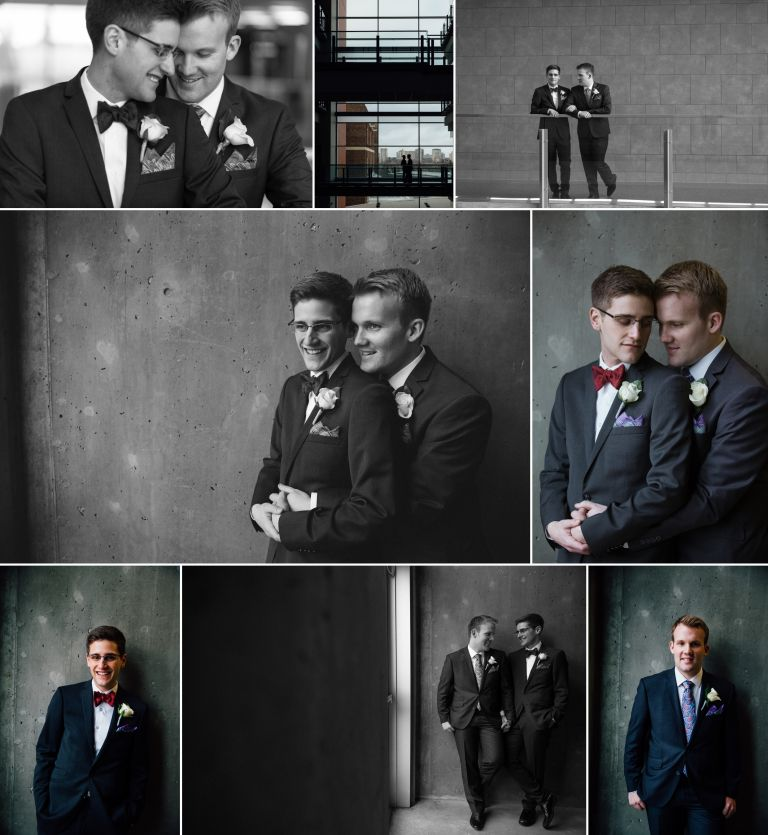 Chris & Jeremiah's Winter Wedding in Edmonton 4