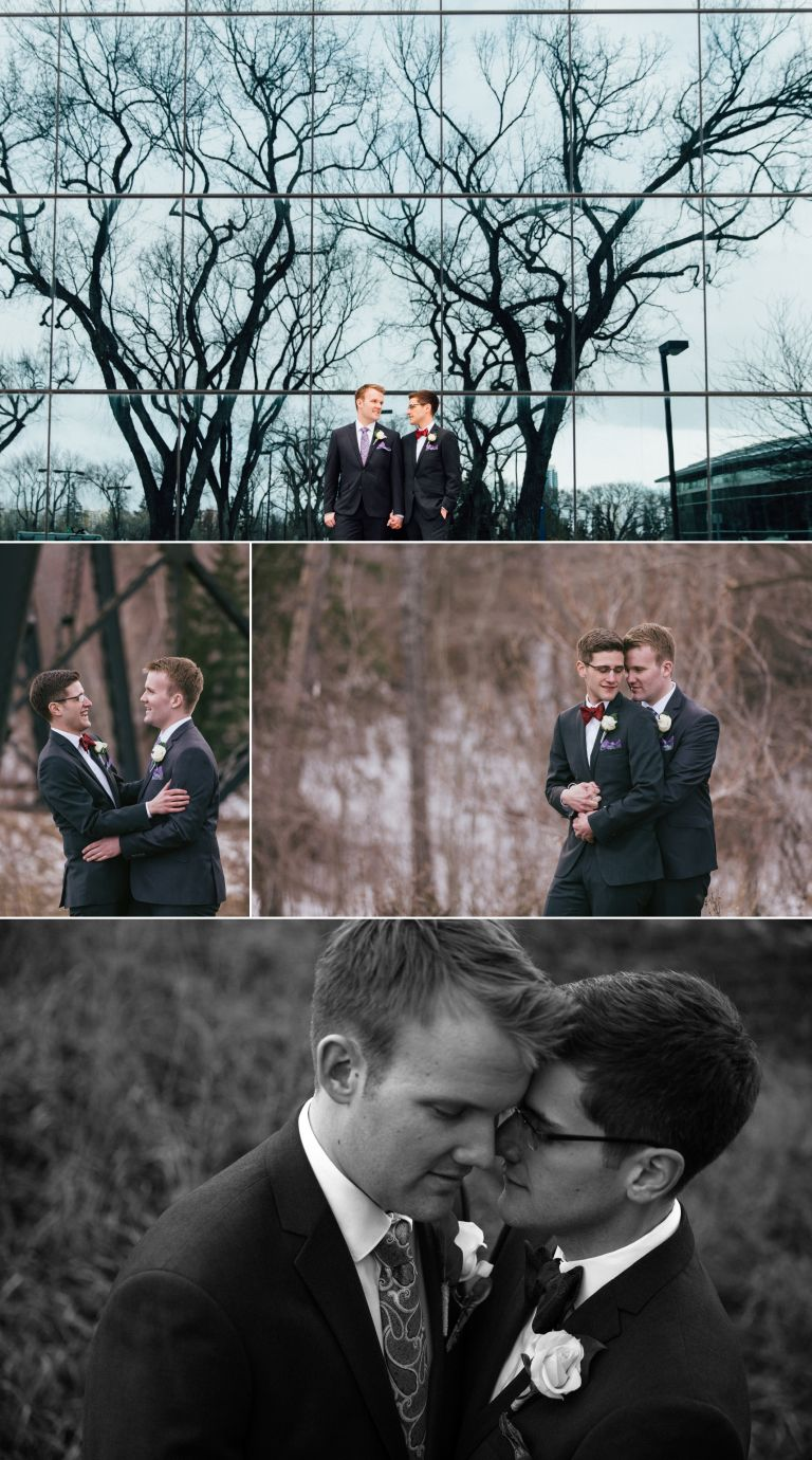 Chris & Jeremiah's Winter Wedding in Edmonton 5