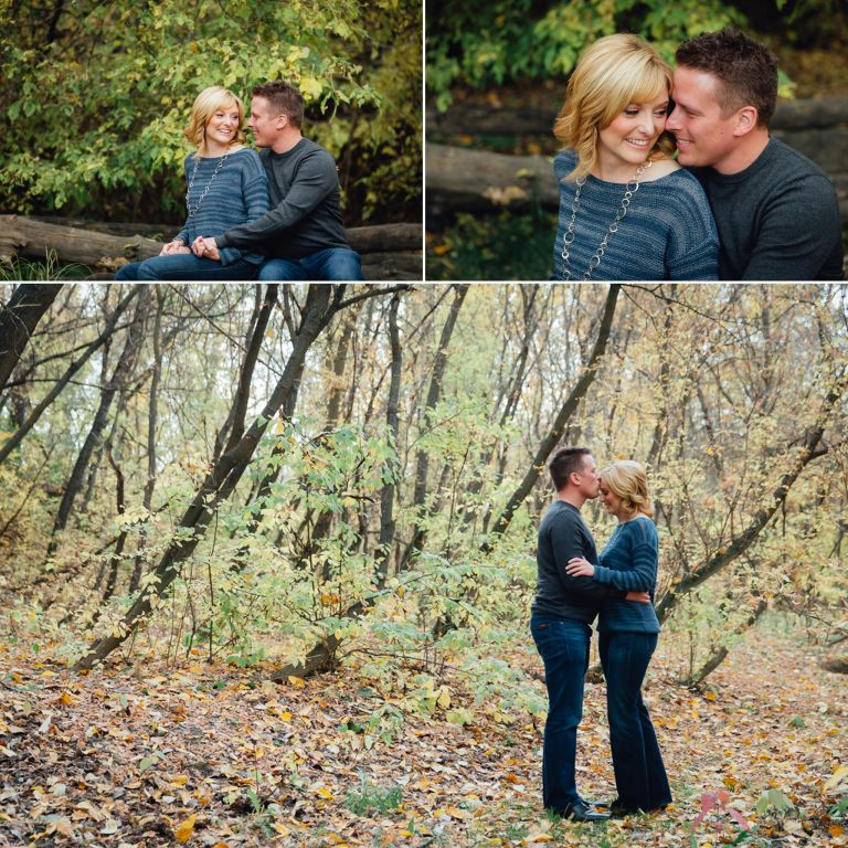 Robyn & Martin's Fall Engagement Session in Edmonton