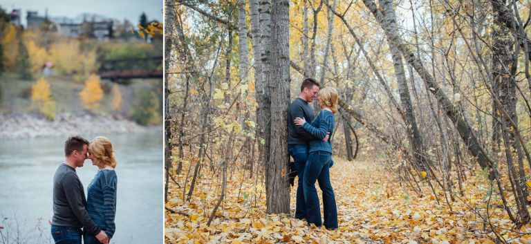 Robyn & Martin's Fall Engagement Session in Edmonton 3