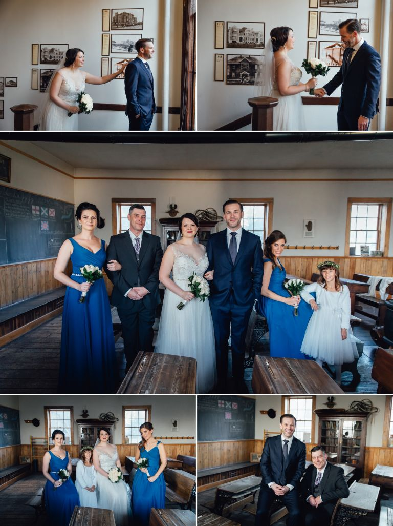 Kristina & Peter's Wedding at the Edmonton School Archives 1