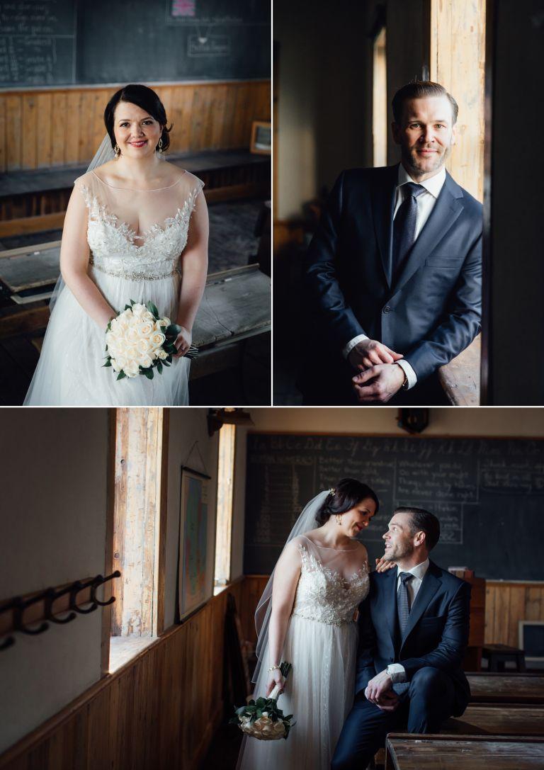Kristina & Peter's Wedding at the Edmonton School Archives 2