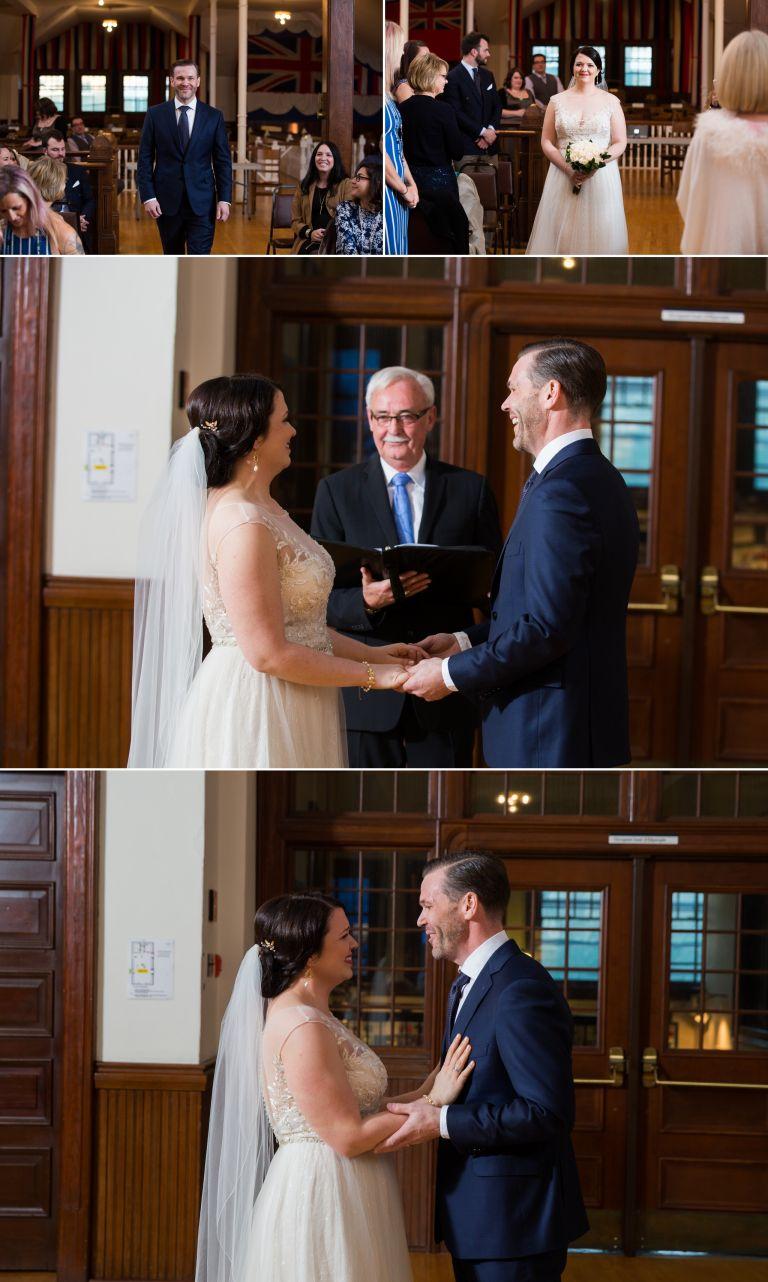 Kristina & Peter's Wedding at the Edmonton School Archives 4