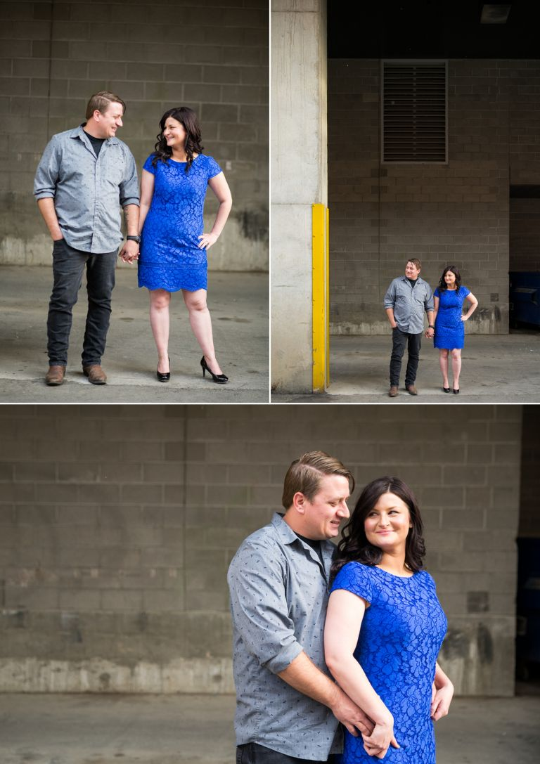 Alison & Shawn - Urban Engagement Session in Edmonton