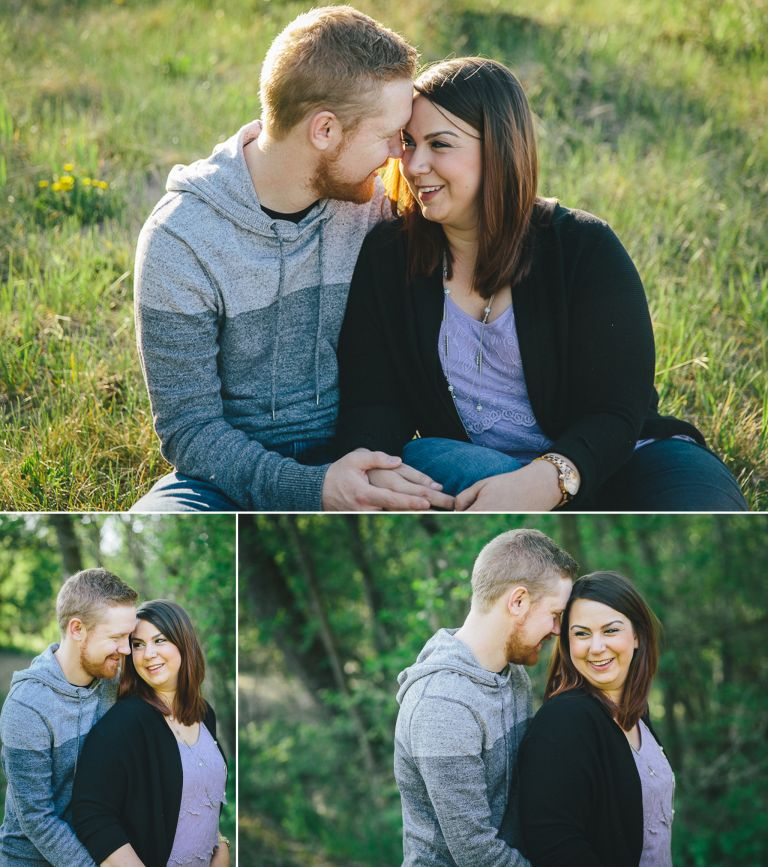 Engagement Photography in Edmonton's River Valley 2