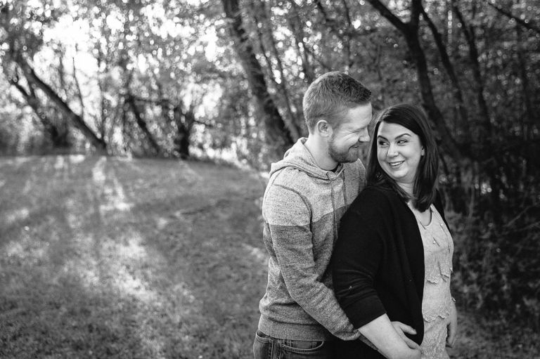 Engagement Photography in Edmonton's River Valley 3