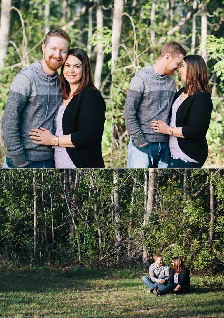 Engagement Photography in Edmonton's River Valley 4