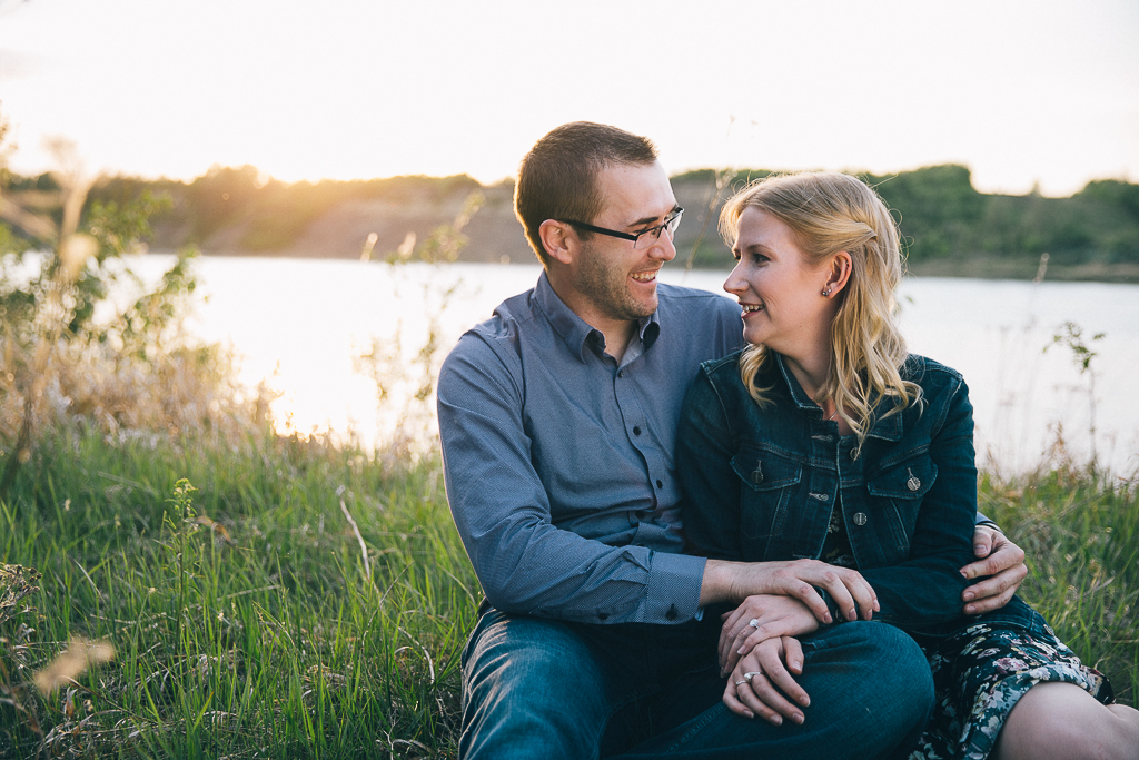 Amanda & Andrew's Engagement Photos in Sherwood Park