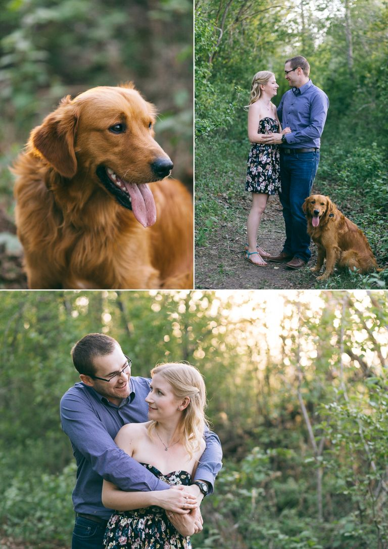 Amanda & Andrew's Engagement Session in Sherwood Park 2