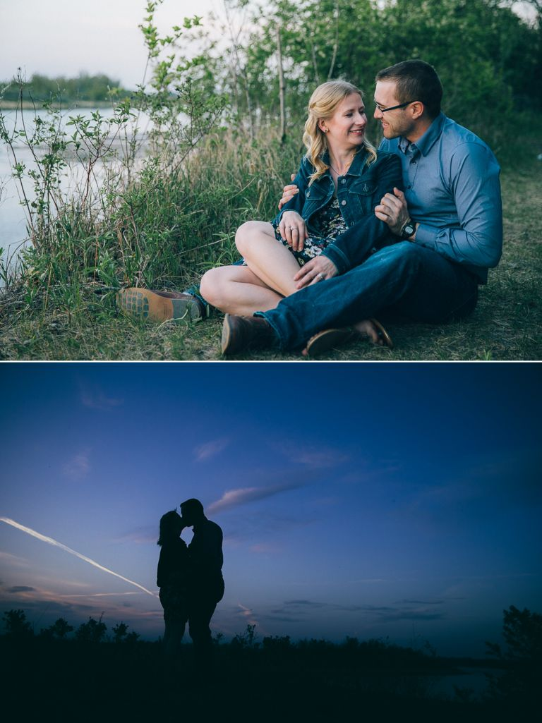 Amanda & Andrew's Engagement Session in Sherwood Park 5