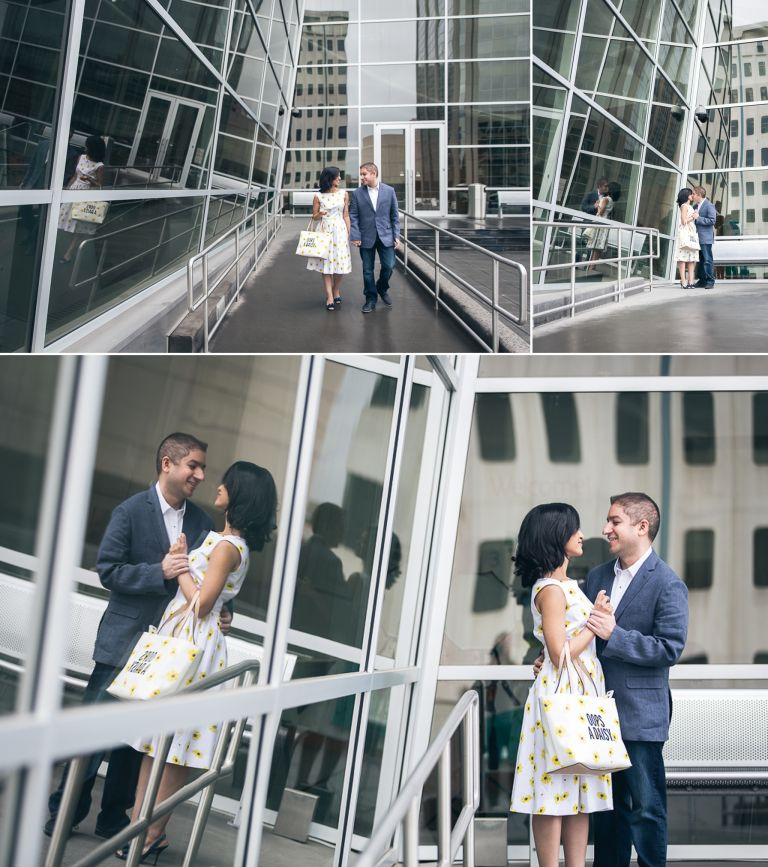 Engagement Photos at the Art Gallery of Alberta