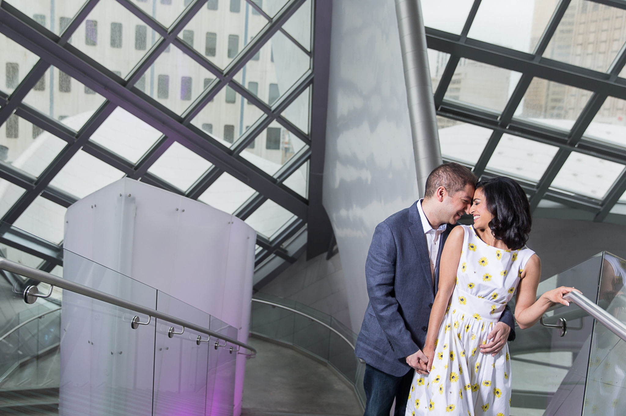 Engagement Photography at the Art Gallery of Alberta