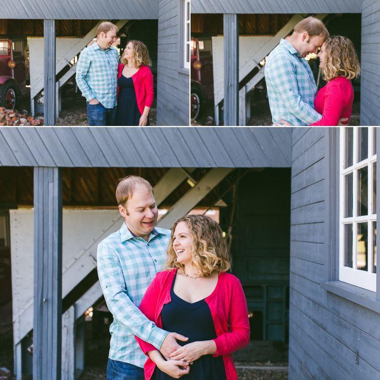 Nicole & Zach's Engagement Photos at Fort Edmonton Park 1