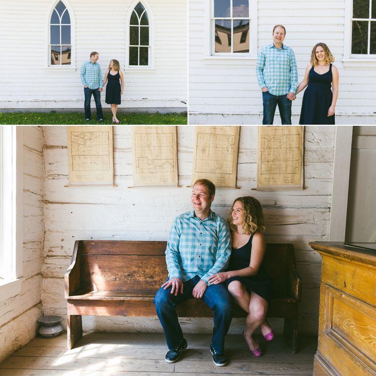Nicole & Zach's Engagement Photos at Fort Edmonton Park 2