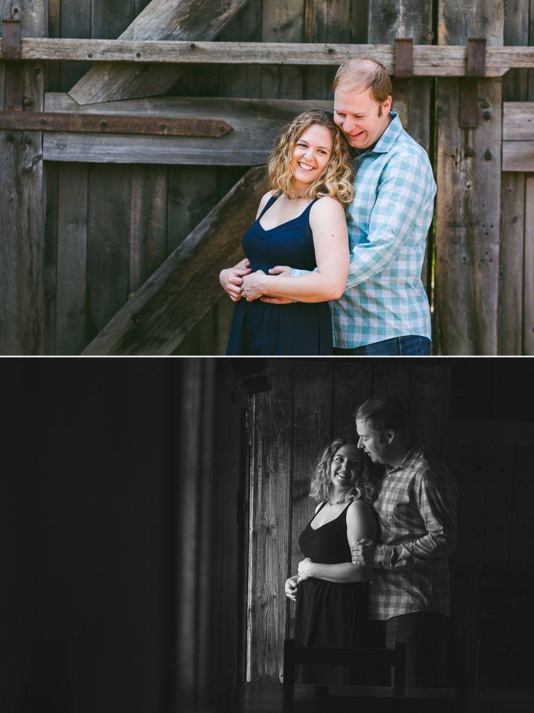 Nicole & Zach's Engagement Photos at Fort Edmonton Park 3