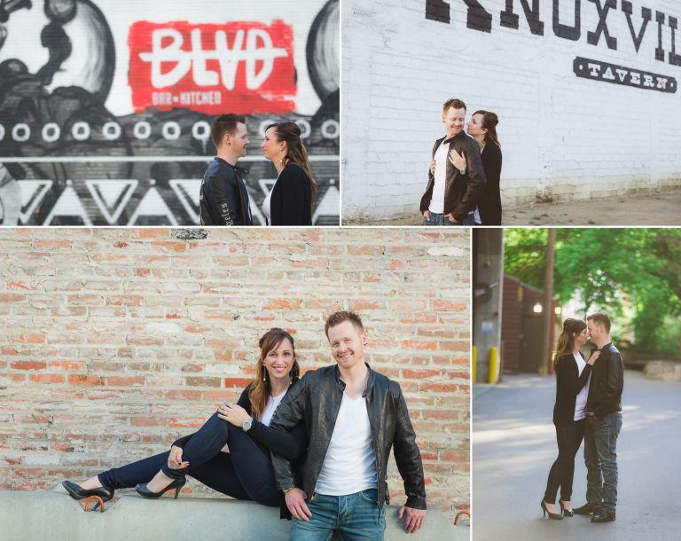 Chantal & Rhys - Engagement Photos in Downtown Edmonton 3
