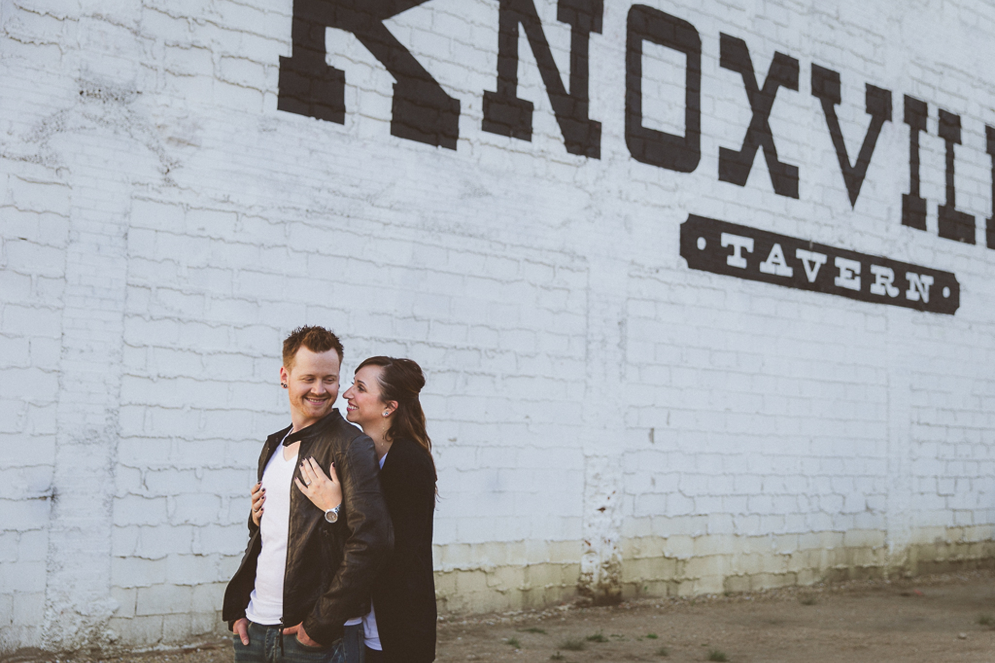 Engagement Photos in downtown Edmonton