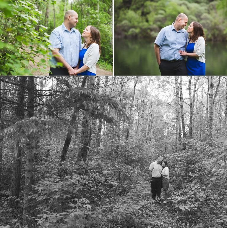 Amanda & Bryan's Engagement Photos at Hawrelak Park 3