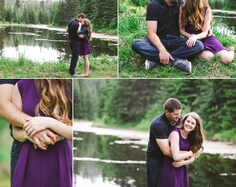 Danielle & David's Engagement Session in Edmonton 1