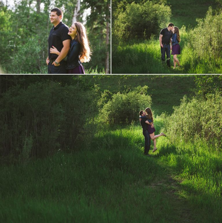 Danielle & David's Engagement Session in Edmonton 2