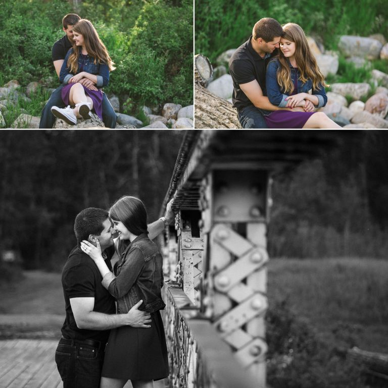 Danielle & David's Engagement Session in Edmonton 3