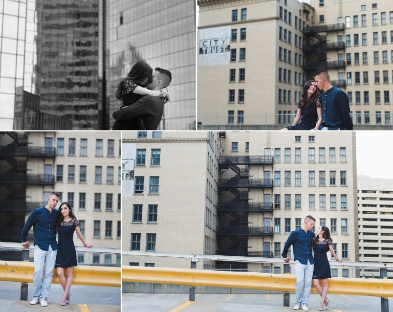 Engagement Photos in Downtown Edmonton