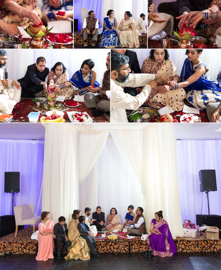 Riya & Sumeer's Engagement Party in Edmonton 3