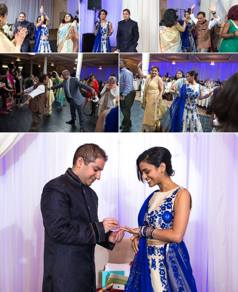 Riya & Sumeer's Engagement Party in Edmonton 4
