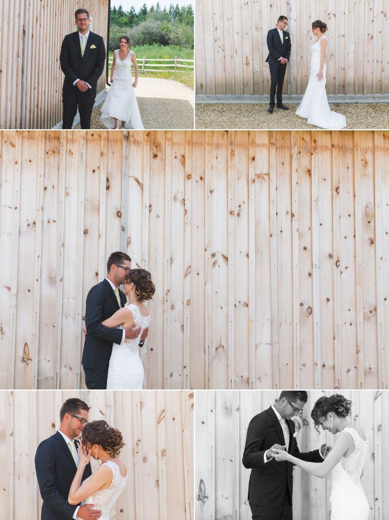Michelle & Scott's Rustic Wedding at Lions Garden 2