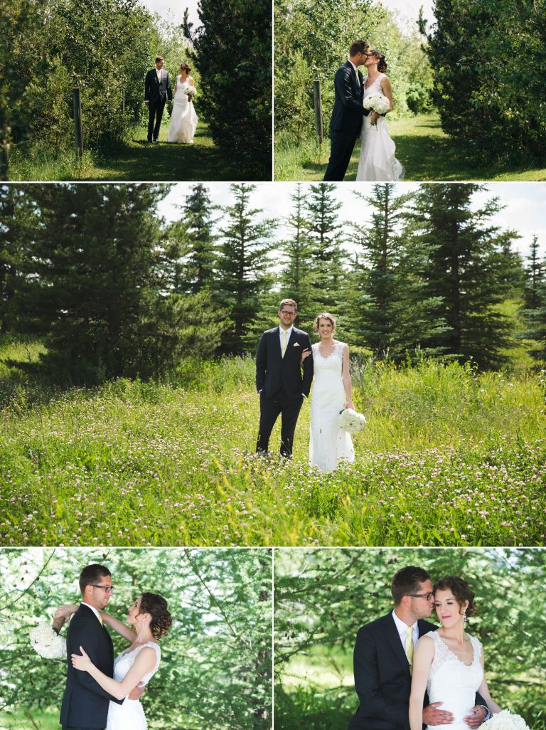 Michelle & Scott's Rustic Wedding at Lions Garden 3
