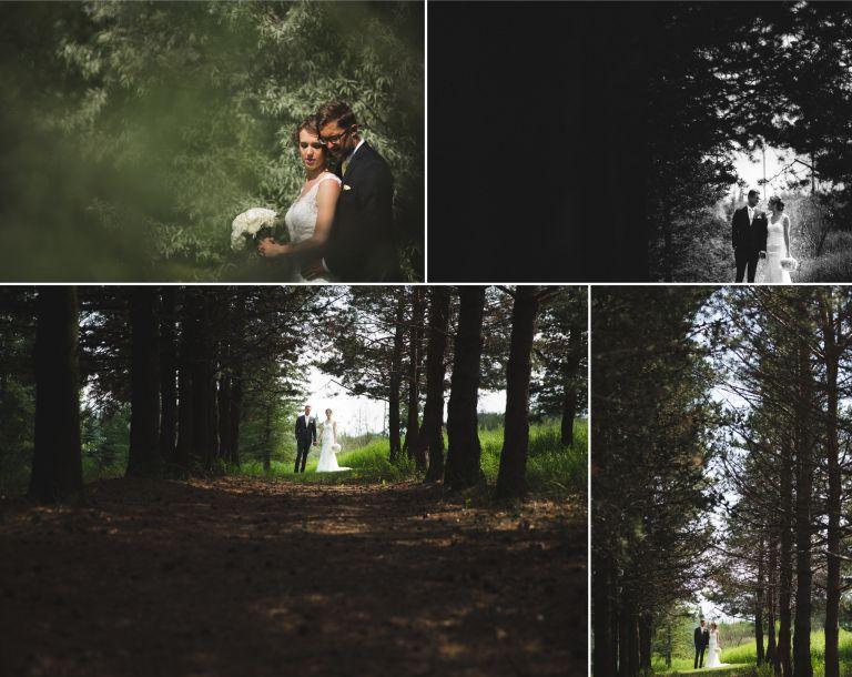 Michelle & Scott's Rustic Wedding at Lions Garden 5