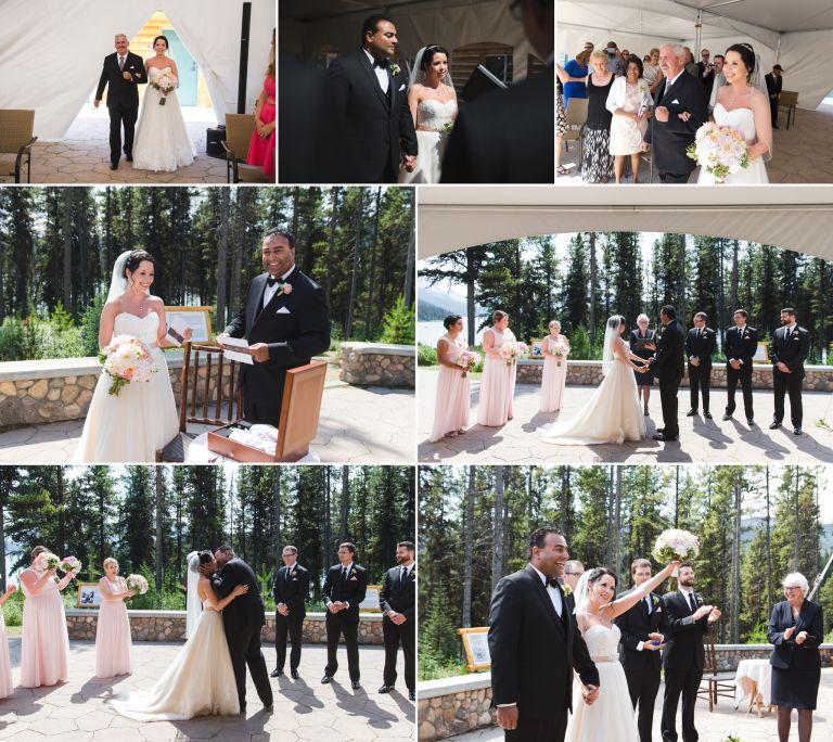 Michelle & Curtis's Wedding at Maligne Lake Chalet in Jasper 5