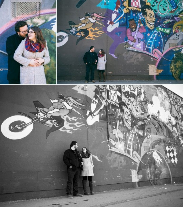 Edmonton wedding photographers - Nicole & Glenn's Engagement Photos
