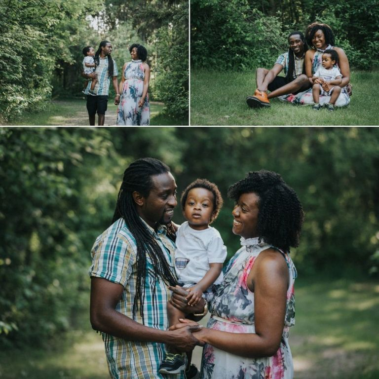 Carolyn & Abasi's Engagement Photos in Goldbar Park