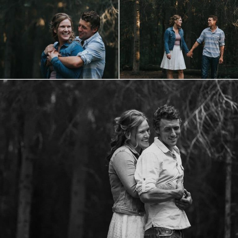 Edmonton Engagement Photogrraphers - Photos in Whitemud Park