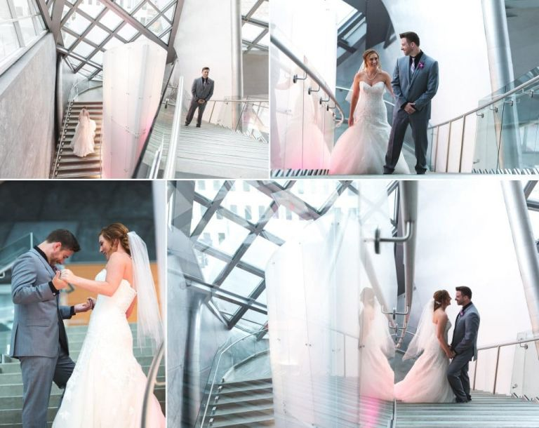 Wedding at the Art Gallery of Alberta