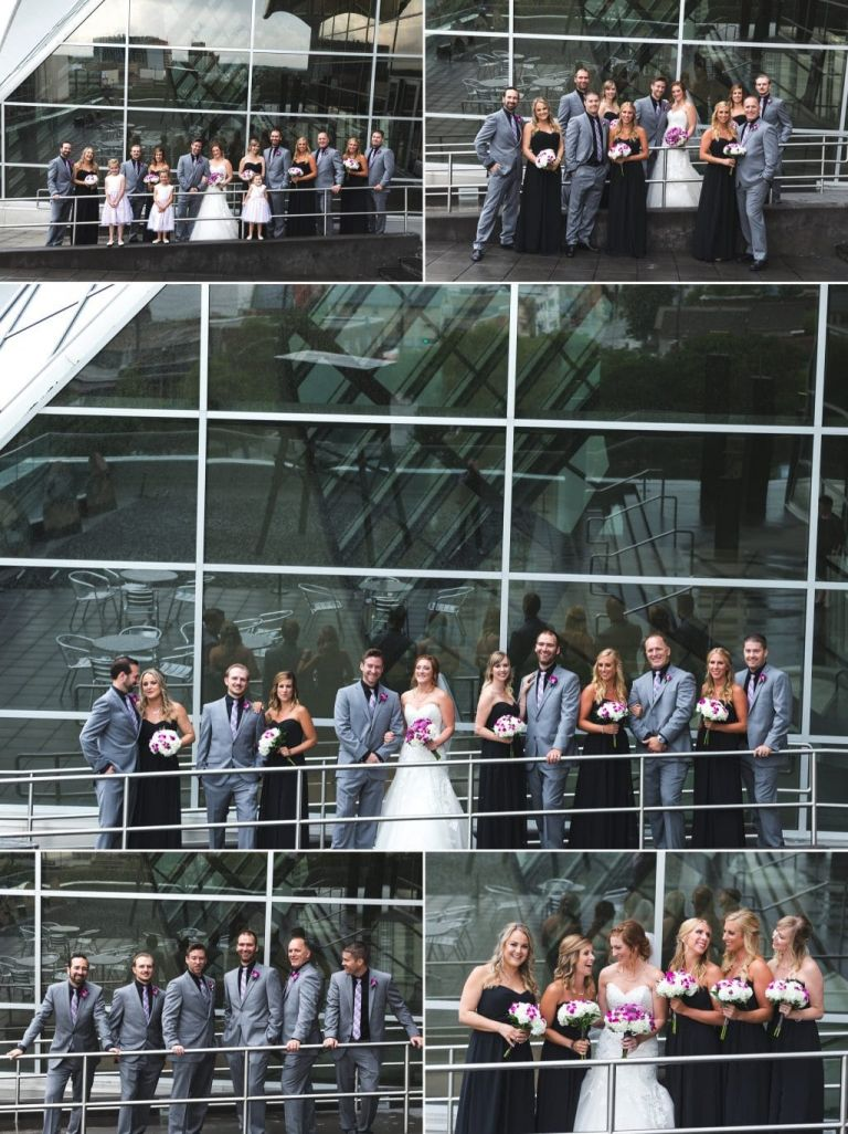 Wedding Photos at the Art Gallery of Alberta