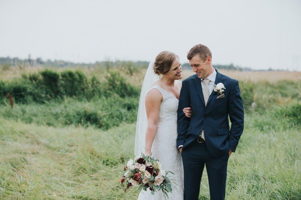 Wedding Photos at Rainer Gardens in Edmonton