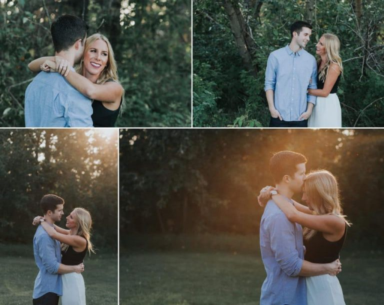 Edmonton Photographers - Engagement Session in Mill Creek Ravine
