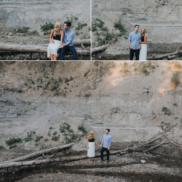 Edmonton Photographers - Engagement Photos in Mill Creek Ravine