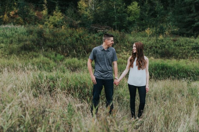 Engagement Photos in Edmonton
