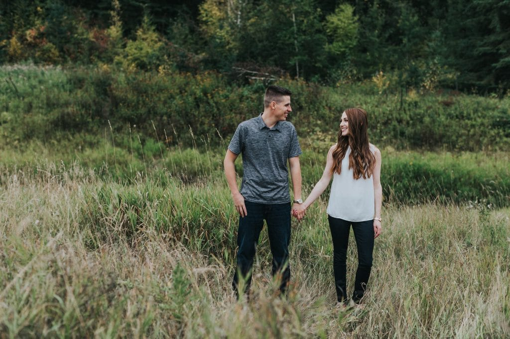 Engagement Photos in Edmonton