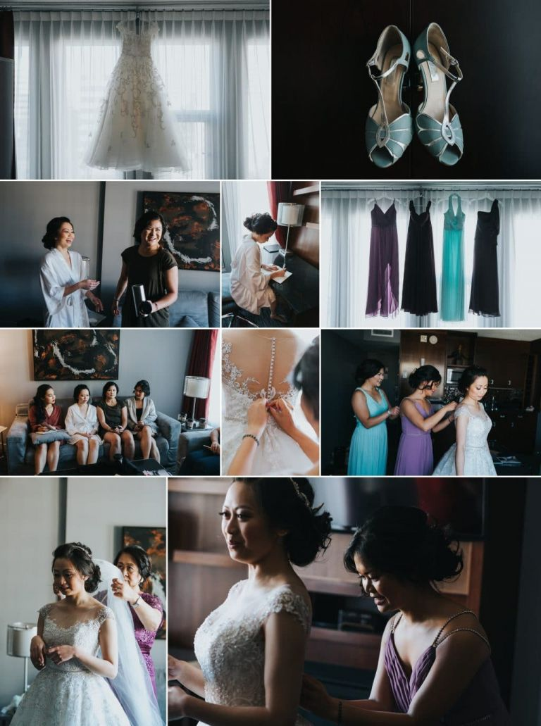 Filipino Wedding at Santa Maria Goretti Parish in Edmonton
