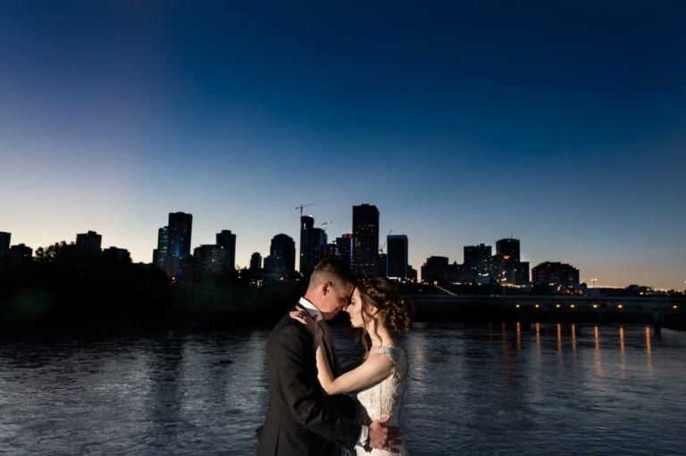Wedding Photos on the Edmonton Riverboat