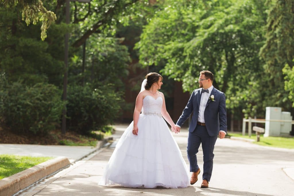 Wedding Photos at the University of Alberta