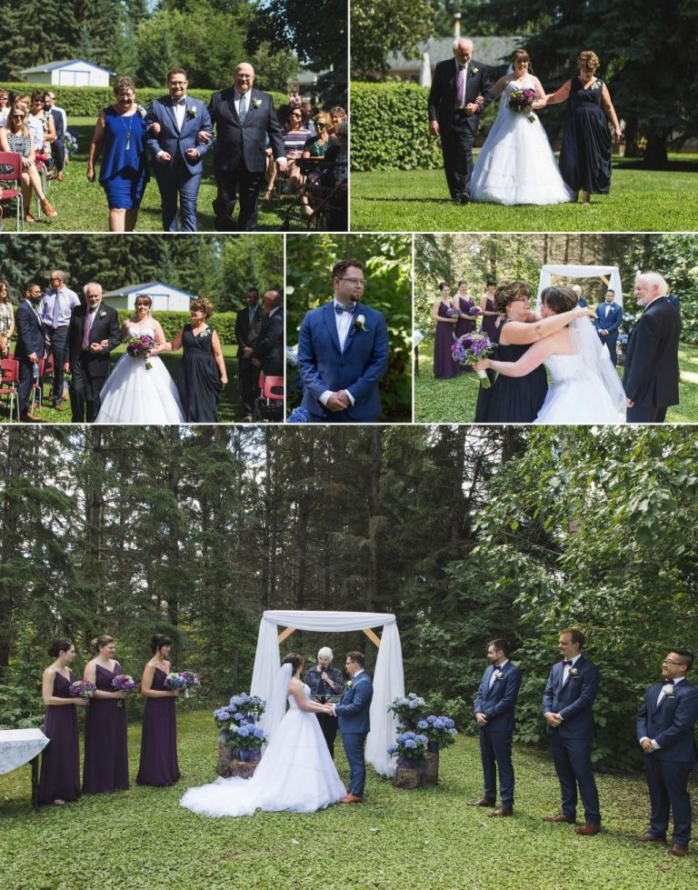 Acreage Wedding in Edmonton